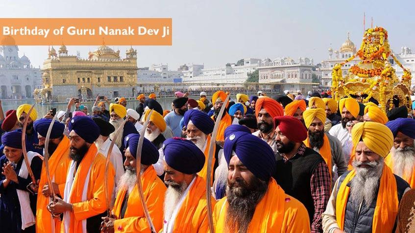 2021 Guru Nanank Dev Ji Birthday Sikh Holidays